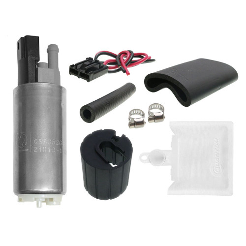 Genuine Walbro/ TI Automotive 350LPH Fuel Pump + QFS 766 Install Kit for Lincoln Towncar 1993-2004