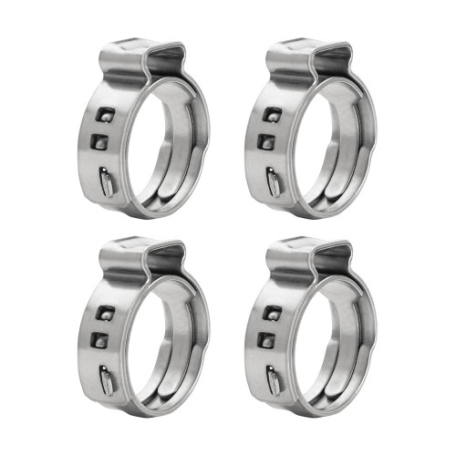 QFS Pex Hose Clamp Ring (Pack of 4) 13.3mm