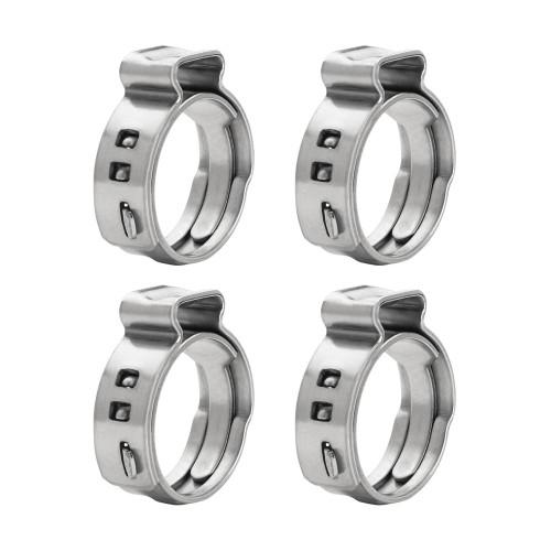 Quantum QFS Pex Hose Clamp Ring (Pack of 4) 17mm