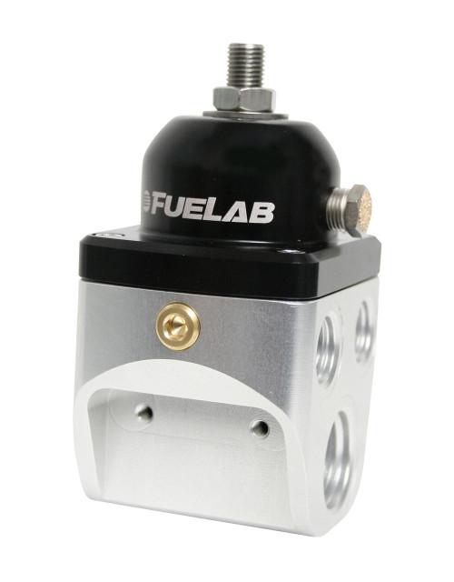 Fuelab Fuelab CARB Fuel Pressure Regulator, Blocking Style, 4 port High Flow, FLB-58501