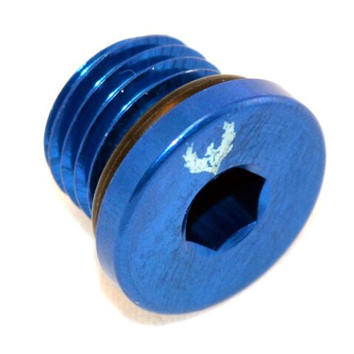 Straight Thread O-Ring Plug Low Profile (All Sizes + Colors)