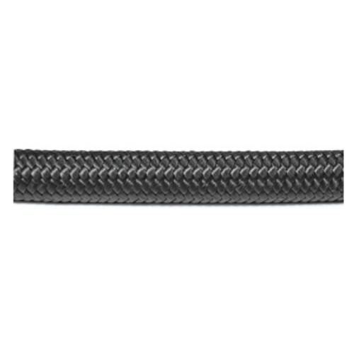 Black Braided Nylon Hose (Per Foot) (All Sizes)
