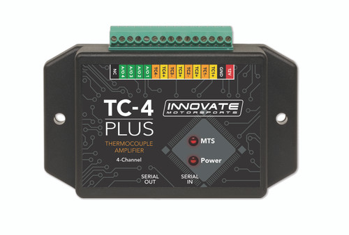 Innovate 3915 TC-4 PLUS Thermocouple Amplifier for MTS 4-Channel (3784)