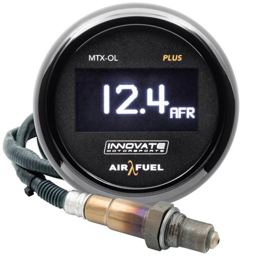 Innovate 3935 MTX-OL PLUS Digital Air/Fuel 8ft OLED Gauge Kit +O2 Sensor