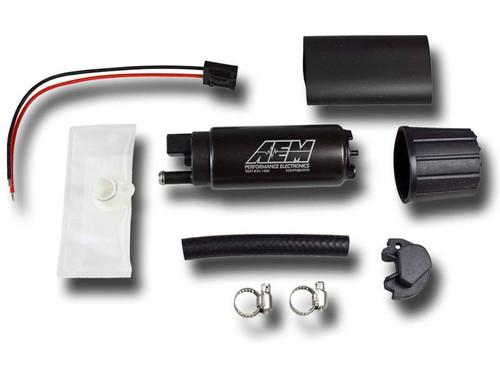 AEM 340LPH High Flow In-Tank Fuel Pump (Offset Inlet, Inline), 50-1000