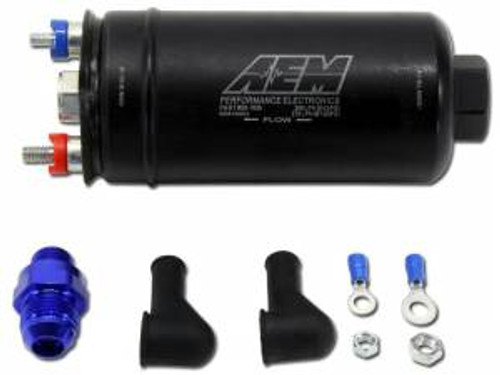 AEM 400 LPH High Flow In Line Fuel Pump, 50-1005