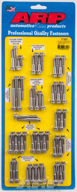 ARP Suzuki/Hayabusa GSX1300R SS 12Pt Accessory Bolt Kit, 571-9501