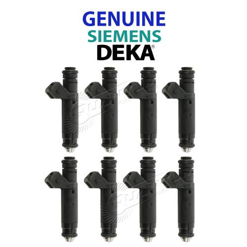 Siemens Deka 60LB Fuel Injectors EV1 60mm Length 630cc, 107961 (Choose QTY)