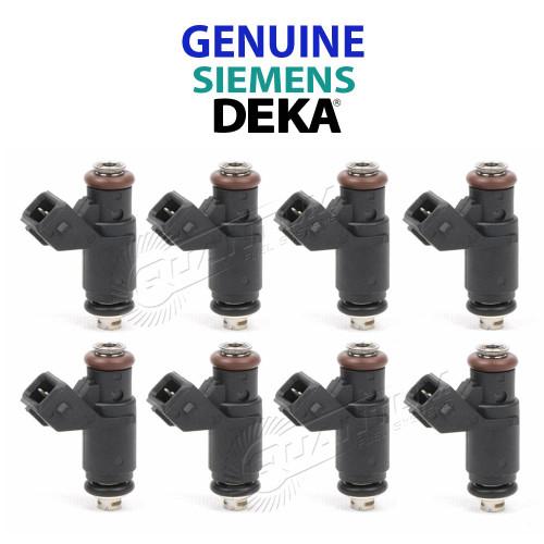Siemens Deka 80LB 840cc Compact Fuel Injectors, EV1 FI114700 (Choose QTY)