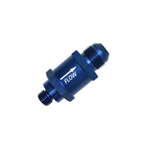 QFS Check Valve -6AN M10x1 For Walbro/TI GSL391 / GSL392 / GSL393 / GSL395 Series Inline Pumps