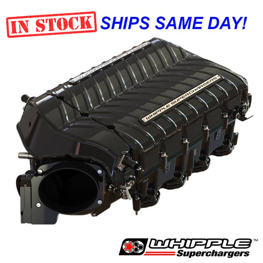 WHIPPLE GEN 5 STAGE 2 Supercharger System 2018-2020 Ford 5.0L + ID1050, HP Tuners Bundle Options