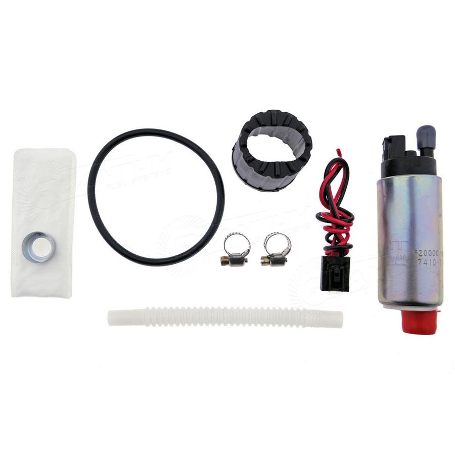Genuine Walbro/TI Automotive F20000169 255LPH Fuel Pump + QFS 1016 Install Kit For Chevrolet Suburban 1996-1997