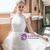 Tulle Lace Pleats Beading Sleeveless Wedding Dress