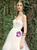 White Hi Lo Tulle Sweetheart Corset Wedding Dress