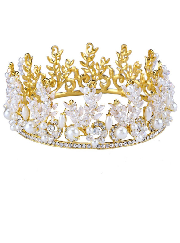 Accessories Crystal Tiaras Vintage Big Crown