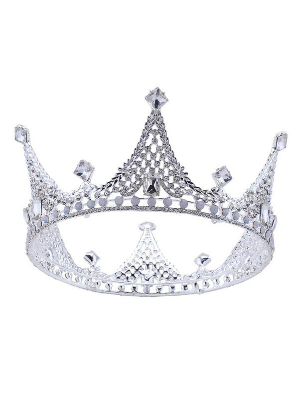 Brides Baroque Crown Korean Crown Headdress