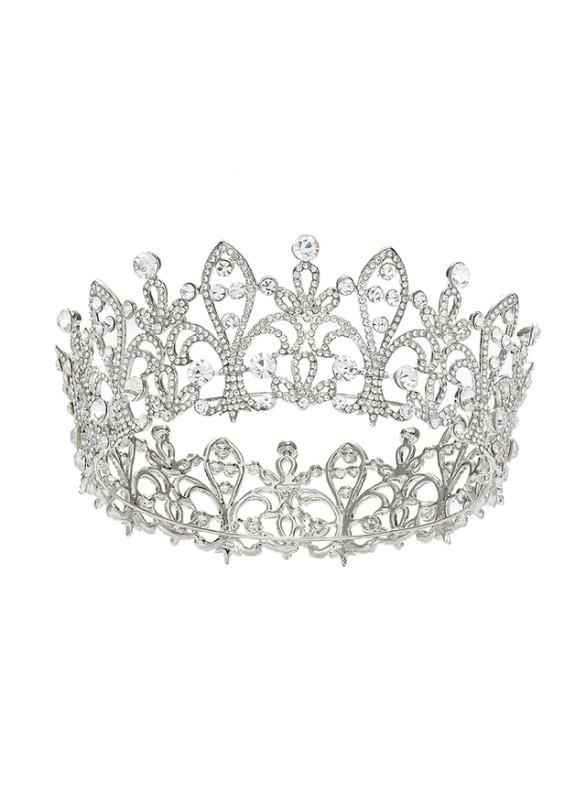 Brides Queen Princess Crown Full Diamond Zircon