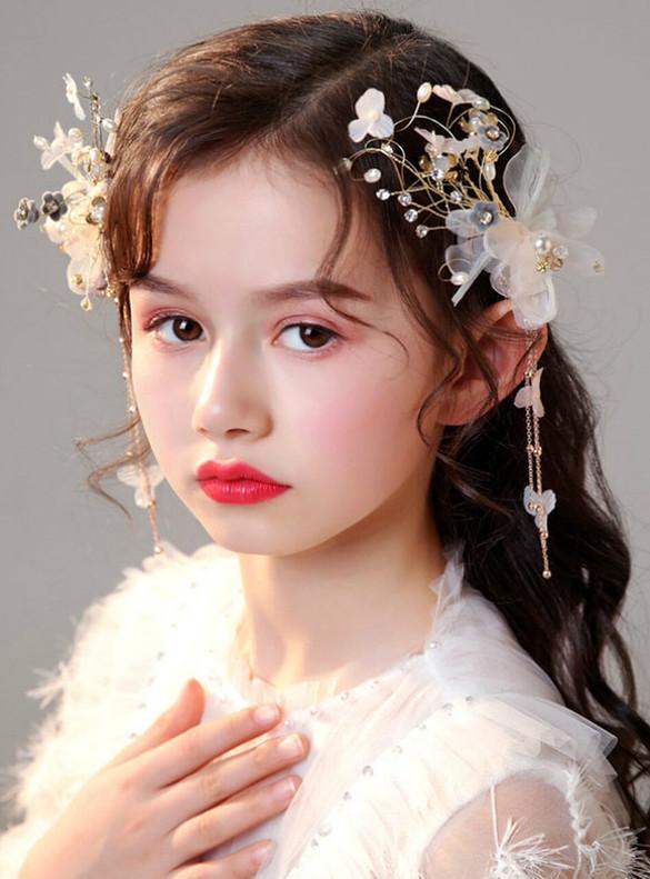 Girls' Hair Accessories Girls' Flower Clips