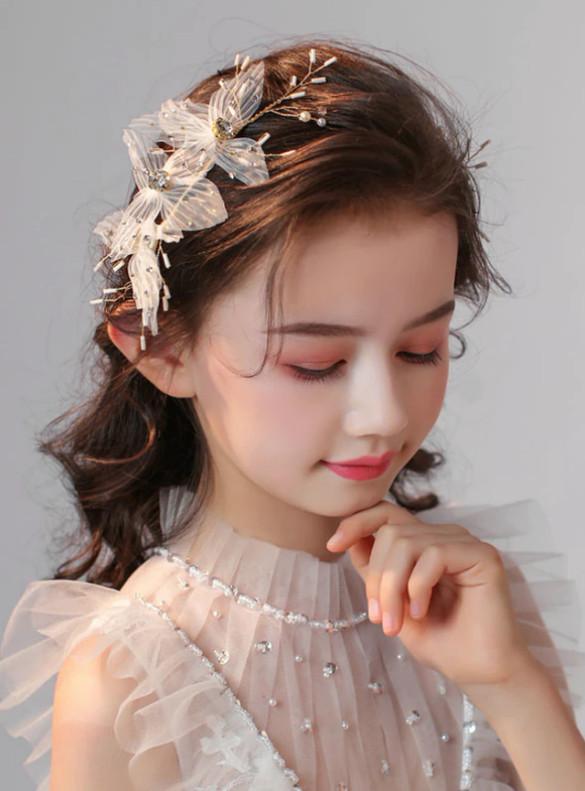 Princess Headdress Flowers Girls Accessories