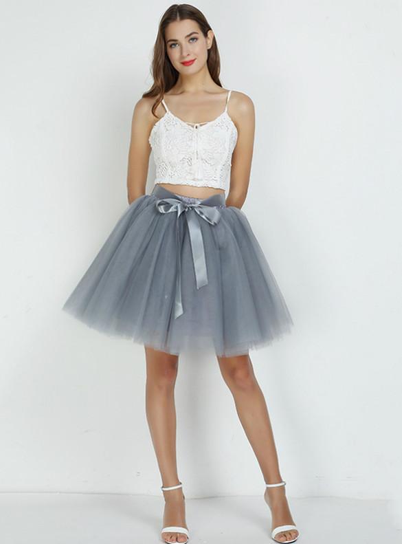 Women Tulle Short Tutu Skirt