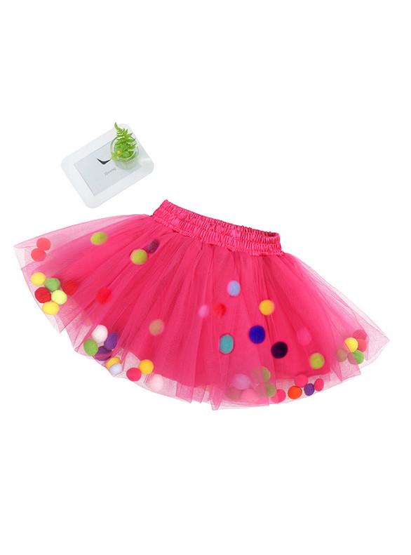 Girls Short Tulle Tutu Skirt
