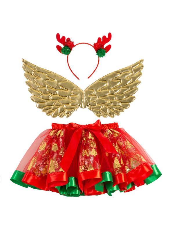 Girls Christmas Tree Tutu Skirt