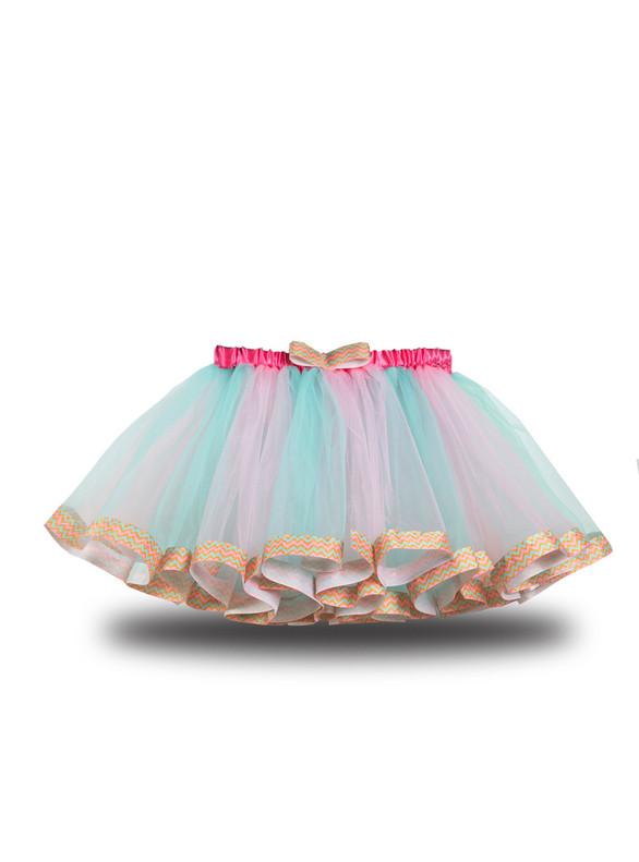 Pink Tulle Short Tutu Skirt