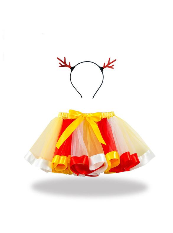 Girls Christmas Tulle Tutu Skirt