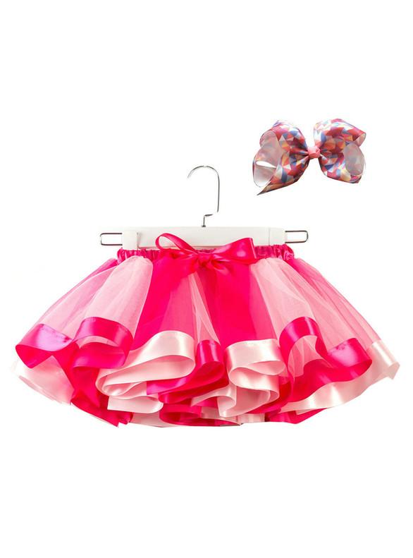Cute Girls Colorful Tulle Tutu Skirt