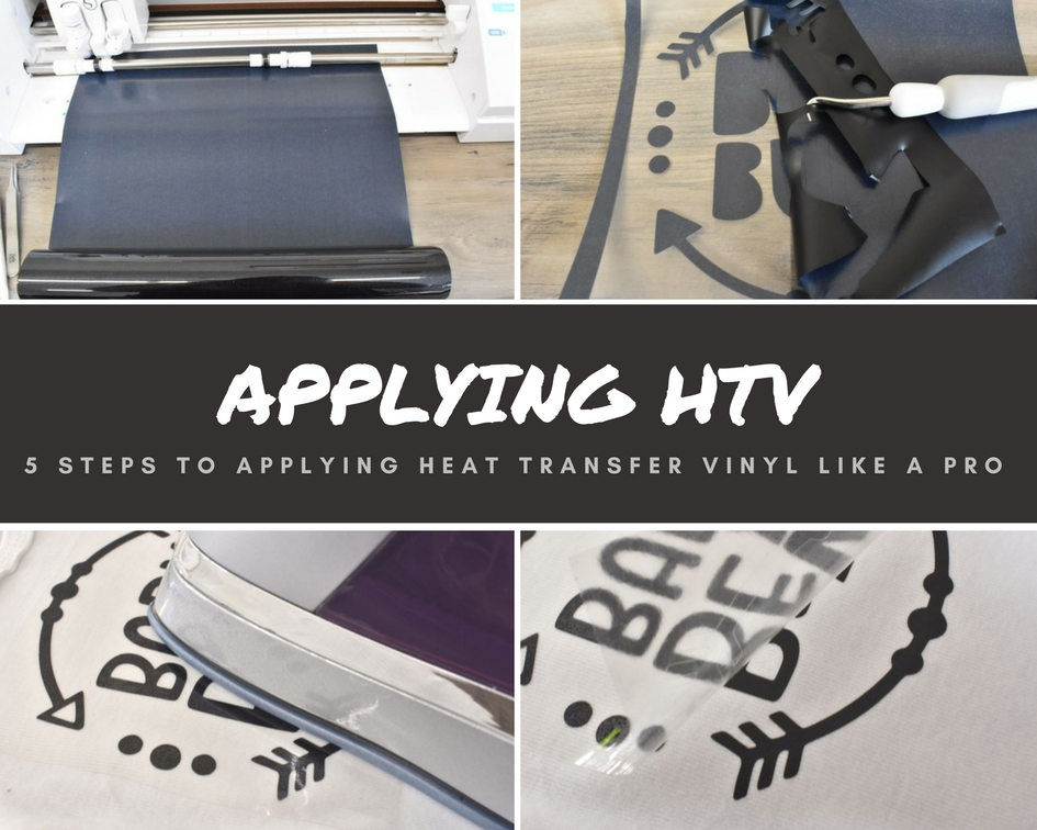 5 Steps (Tips) to Applying HTV Like A Pro - Standout Vinyl