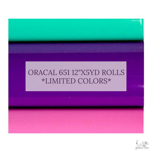 Oracal 651 Rolls (12