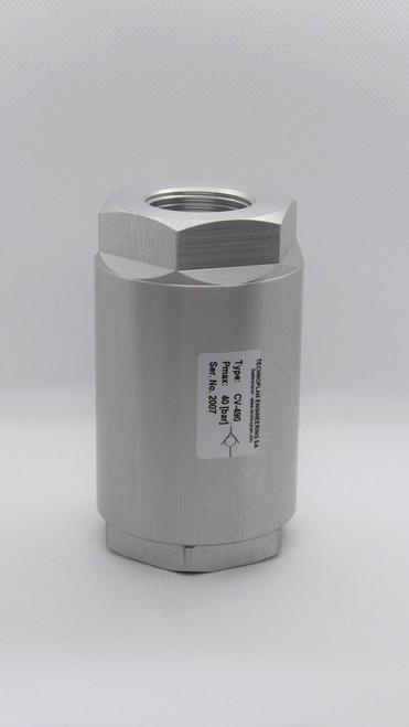 Check valve: CV-490s