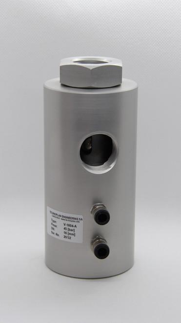 Exhaust valve: V-1604-A
