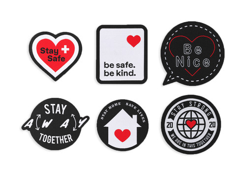 Iron on Patches Pack 1