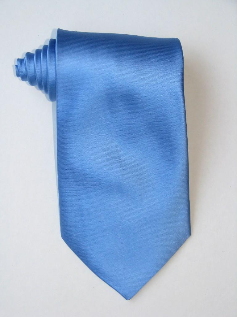 Solid Blue Tie