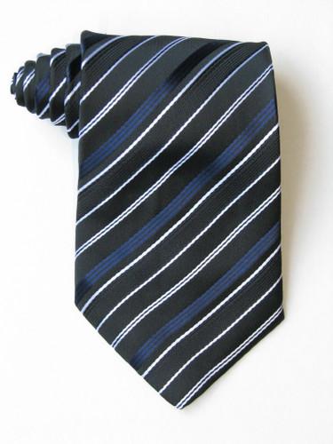 Free Blue And White Stripe Tie