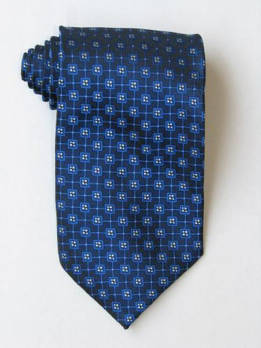 Free Multi Squares Blue Tie