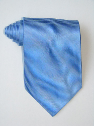 Little Squares Blue Tie