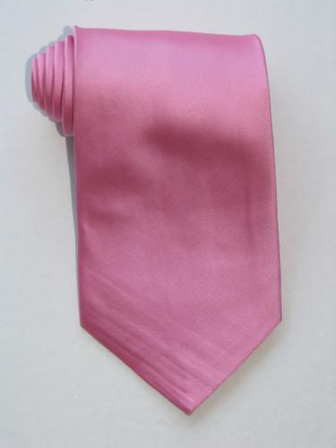 Solid Pink Tie