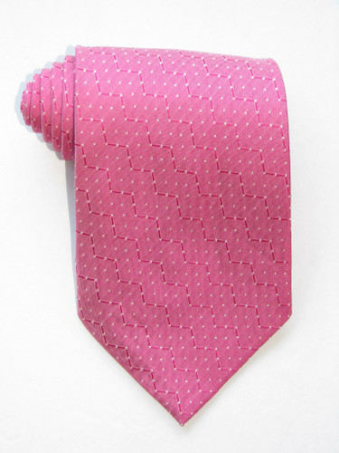 White Peas Pink Tie