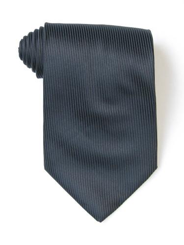 Black Lined Tie