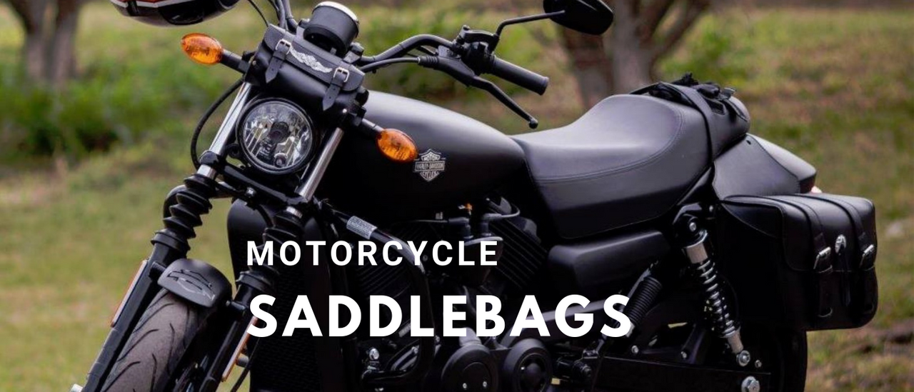 504 saddlebags on Harley Davidson Street 500