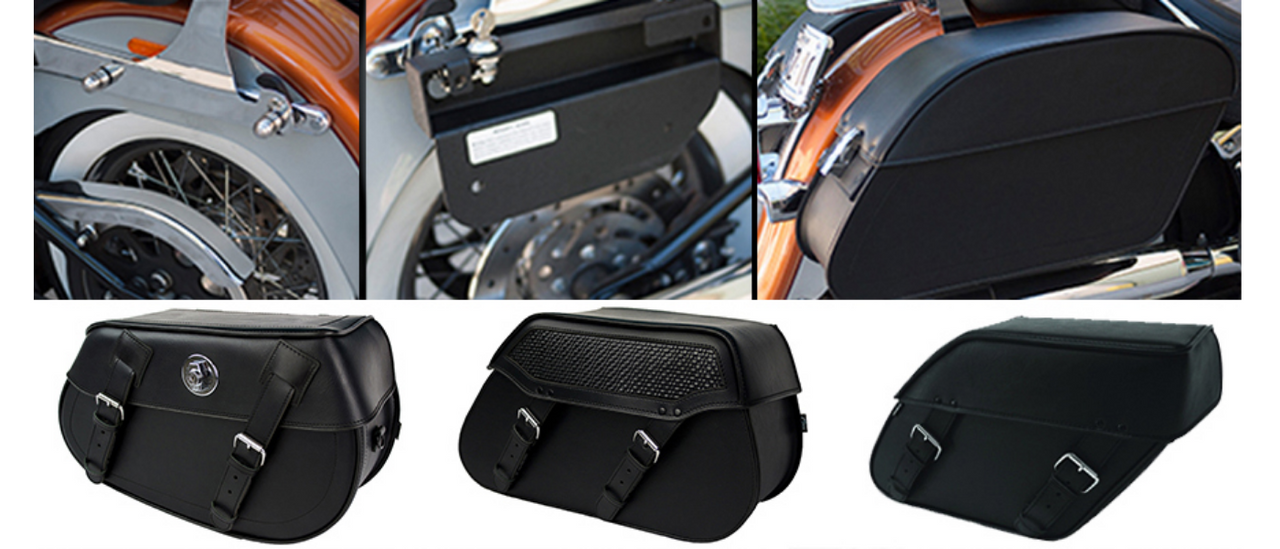 Easy Brackets Harley Davidson Softail & Saddlebags