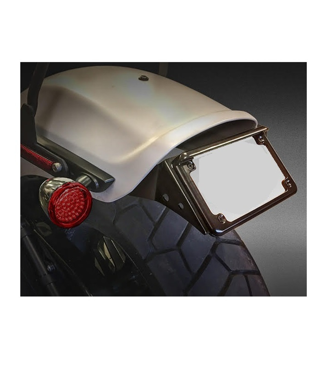 2018 HD Fat Bob Tail Tidy Indicator Relocation LED License Kit