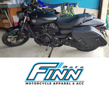 Motorcycle Saddlebags to fit Harley Davidson Street 500 XG500
