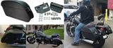 Triumph Thunderbird Motorcycle Saddlebags & Easy Brackets