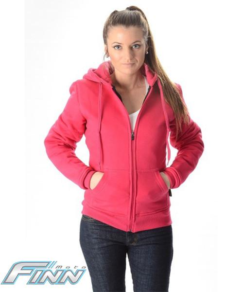 Pink Ladies Kevlar Hoodie Front