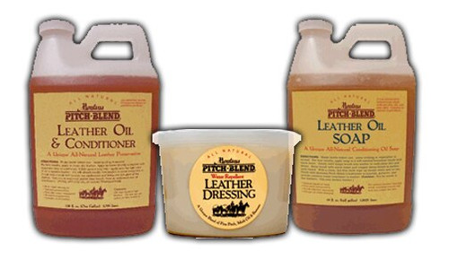 Montana Pine Pitch Blend Leather Conditioner Bulk Combo