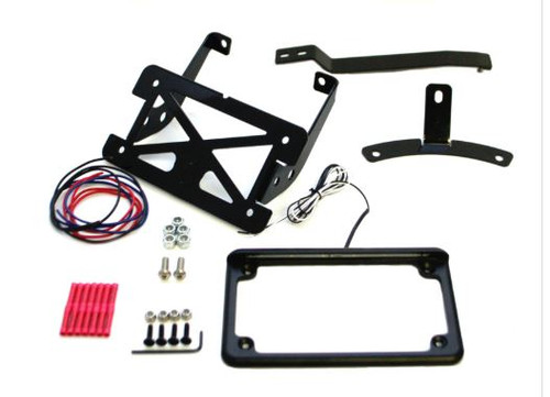 Turn signal relocation kit for HD Blackline & Slim