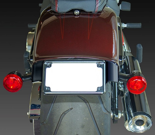 2018 Fat Boy tail tidy & indicator relocation hardware